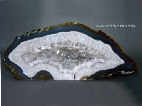 Spectacular Large Agate Decorator Specimens