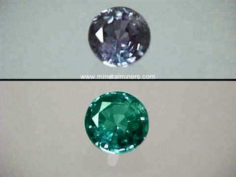 Alexandrite Gems Natural Color Change Alexandrite Gemstones