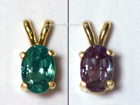 Alexandrite Jewelry - genuine alexandrite jewelry