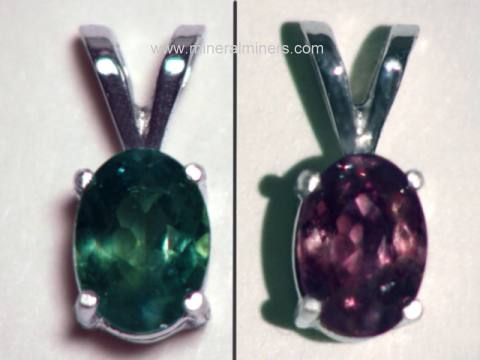 Alexandrite Necklaces