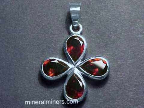 Large Image of almj132_red-garnet-jewelry