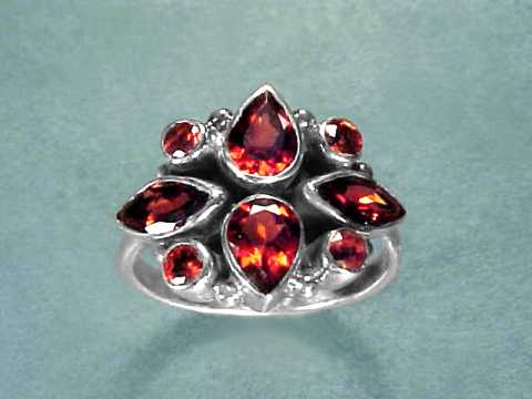 Large Image of almj150_red-garnet-ring