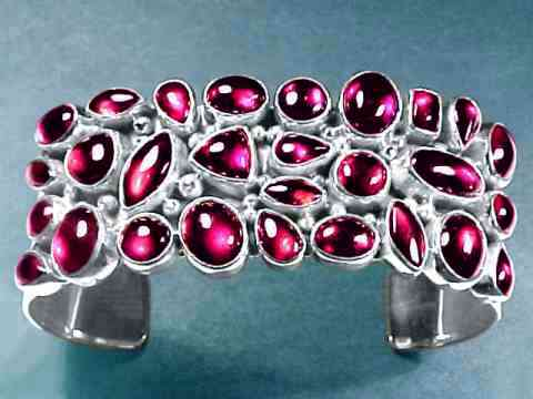 Large Image of almj191_red-garnet-jewelry