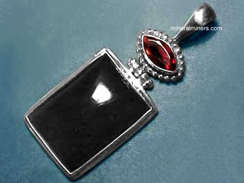 Large Image of almj160_red-garnet-jewelry
