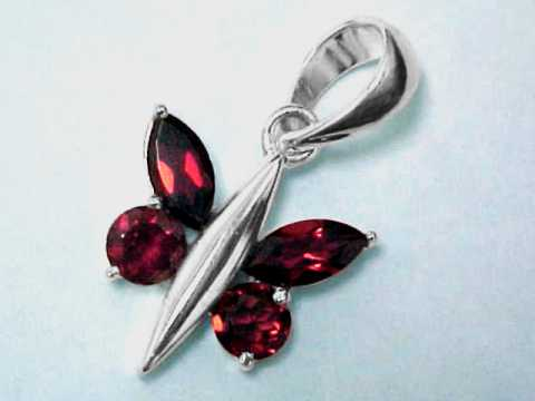 Large Image of almj173_red-garnet-jewelry