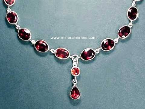 Large Image of almj181_red-garnet-necklace