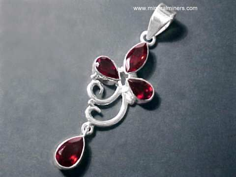 Large Image of almj188_red-garnet-jewelry
