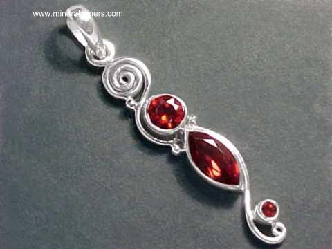 Large Image of almj189_red-garnet-jewelry