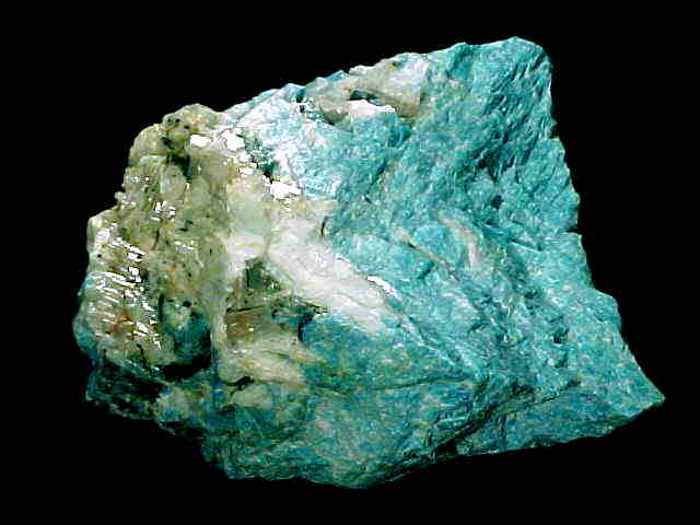 Amazonite Mineral Specimens link