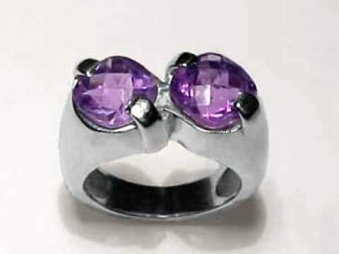 Large Image of amej166_amethyst-ring