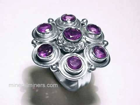 Large Image of amej174_amethyst-ring