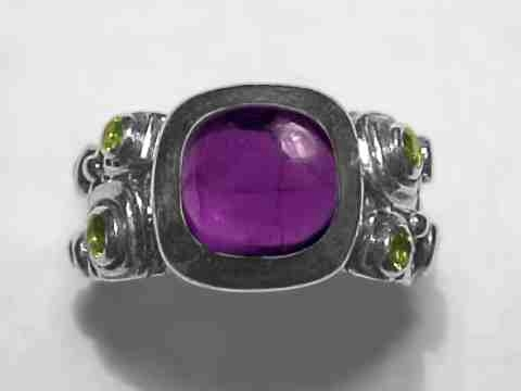 Large Image of amej214_amethyst-ring