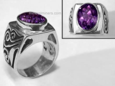 Large Image of amej215x_amethyst-ring