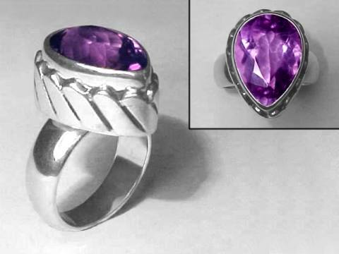 Large Image of amej220_amethyst-ring