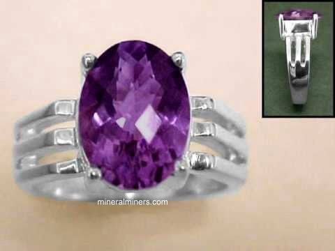 Large Image of amej264_amethyst-ring