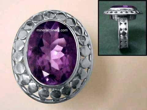 Large Image of amej269_amethyst-ring