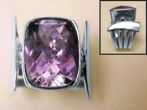 Large Image of amej271_amethyst-ring
