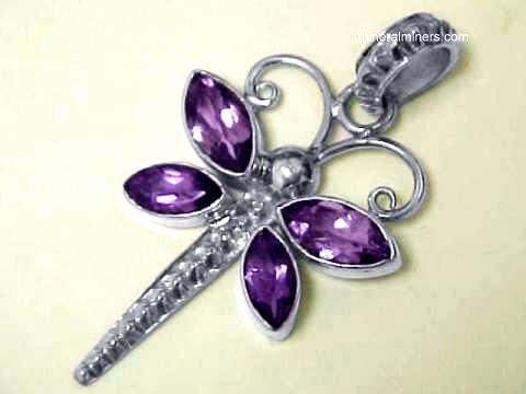 Large Image of amej279_amethyst-butterfly-pendant