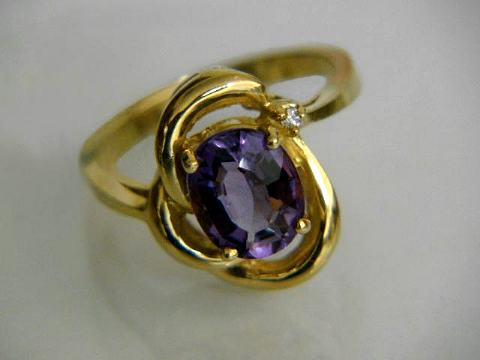 Large Image of amej287_amethyst-ring