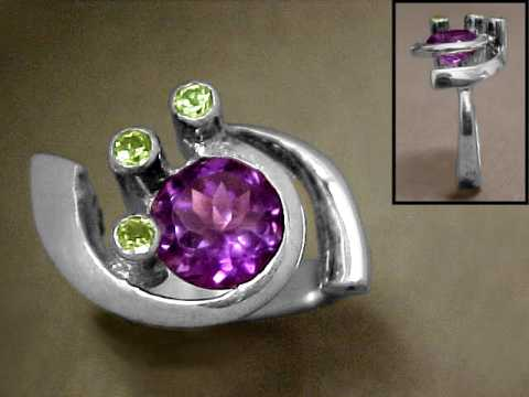 Large Image of amej293_amethyst-ring