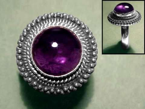 Large Image of amej294_amethyst-ring