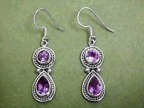 Large Image of amej300_amethyst-earrings