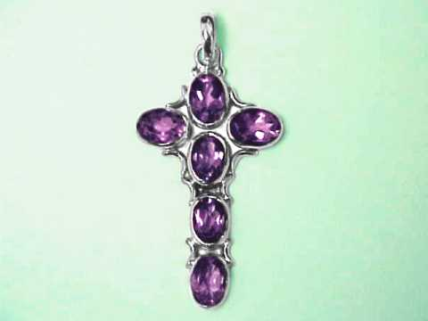 Large Image of amej317_amethyst-cross-jewelry