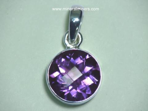 Amethyst Jewelry & Pendants
