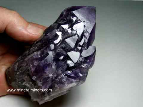 Amethyst Crystals and Amethyst Mineral Specimens