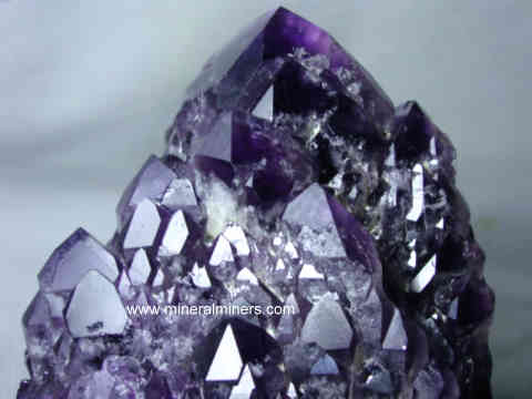 Large Amethyst Decorator Mineral Specimen: Large Amethyst Decorator Crystal Specimens