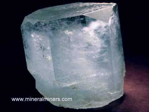 Aquamarine Crystals: natural aquamarine crystals