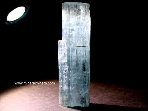 Aquamarine Mineral Specimens and Aquamarine Crystals