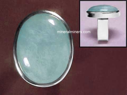 Aquamarine Jewelry in Sterling Silver