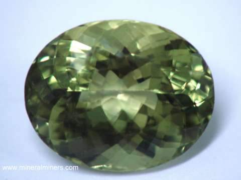 Green Beryl Gemstone