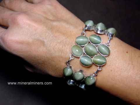 Cats Eye Quartz Bracelets