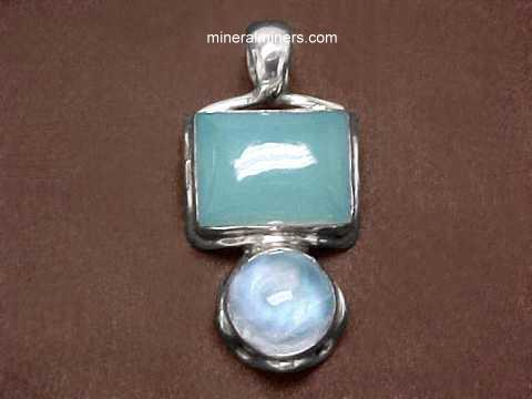 Large Image of chlj141_chalcedony-jewelry