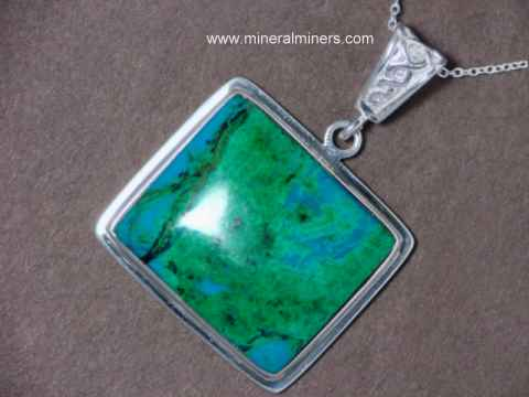 Chrysocolla Jewelry