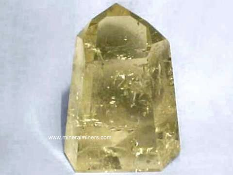 Citrine Crystals (natural color citrine crystals)