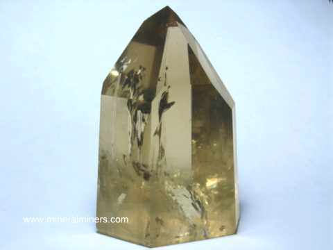 Natural Citrine Crystals and Mineral Specimens
