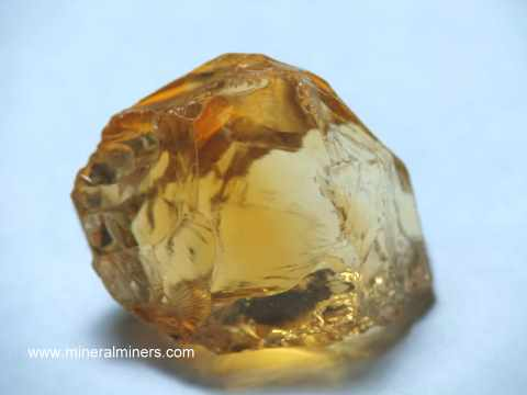Citrine Facet Rough