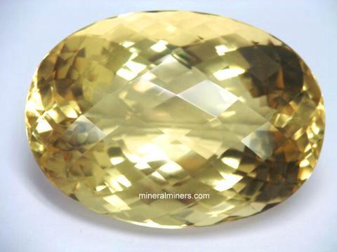 Natural Color Citrine Gemstones