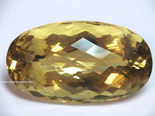 Natural Color Citrine Gemstone