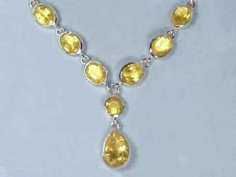 Large Image of citj259_citrine-necklace
