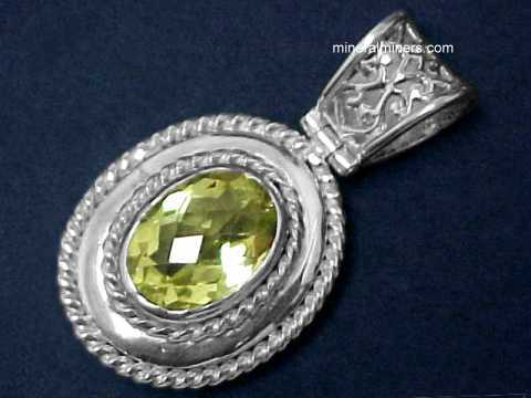 Citrine Jewelry & Pendants