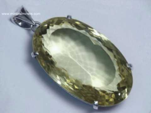 Natural Color Citrine Jewelry