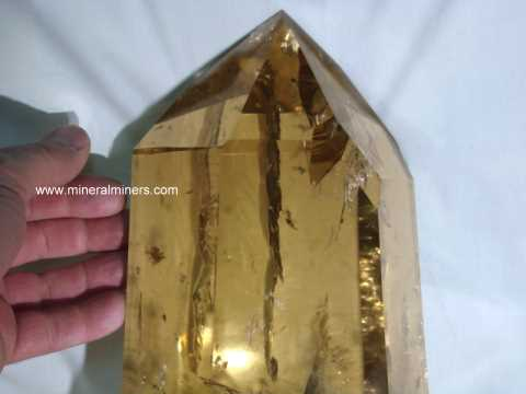 Rare Collector Quality Citrine
