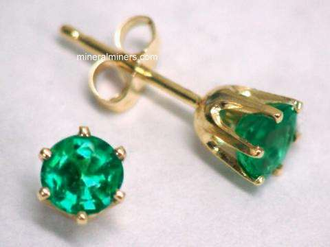 Large Image of emej226_emerald-earrings