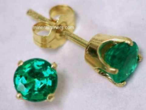 Large Image of emej241_emerald-earrings