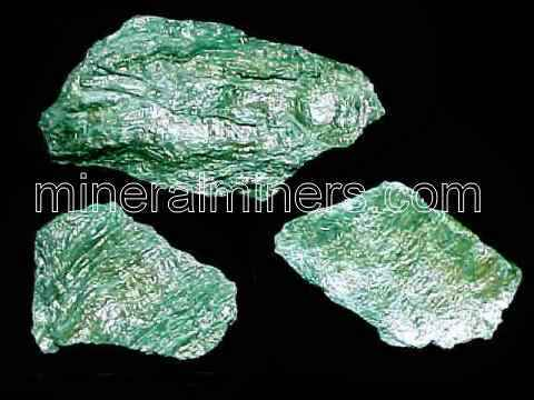 Fuchsite Mica Specimens - Fuchsite Mica Pieces