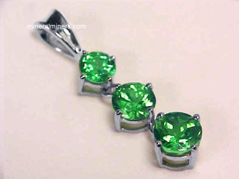 Green Garnet Jewelry - Tsavorite Garnet Jewelry